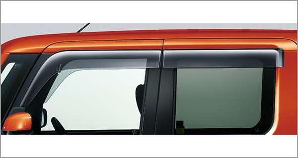『ピクシスメガ』 純正 GBVZ GBMF GBDF サイドバイザー(RVワイド) パーツ トヨタ純正部品 ドアバイザー 雨よけ 雨除け pixis オプション アクセサリー 用品