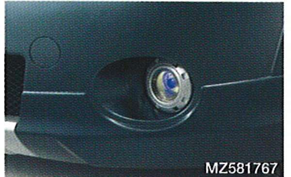 供纯正的NA4雾灯(LED在的黄色)SPORT GEAR使用的零件三菱纯正零部件雾灯补助灯雾灯GRANDIS选项配饰用品