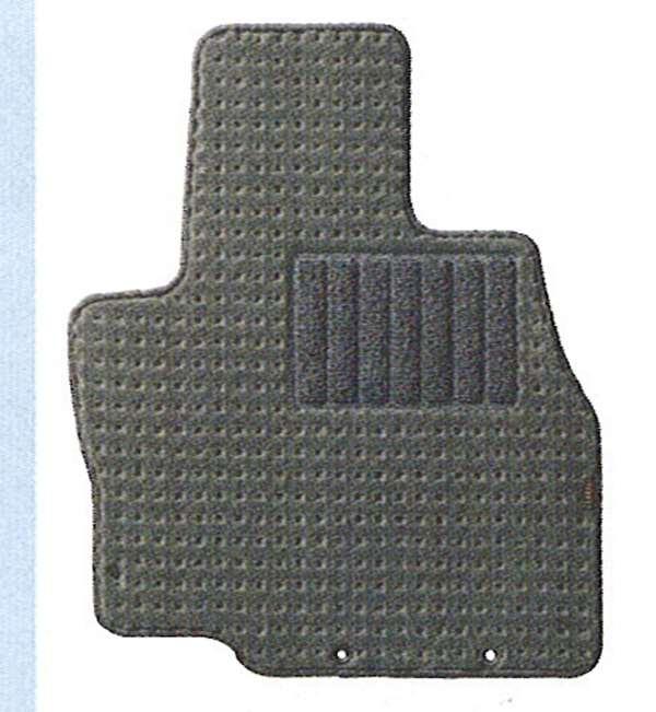 『グランディス』 純正 NA4 フロアマット(第1列、第2列、第3列のセット)(デラックス・グレー) パーツ 三菱純正部品 フロアカーペット カーマット カーペットマット GRANDIS オプション アクセサリー 用品