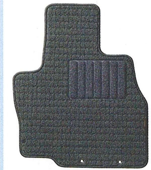 『グランディス』 純正 NA4 フロアマット(第1列、第2列、第3列のセット)(レギュラー・グレー) パーツ 三菱純正部品 フロアカーペット カーマット カーペットマット GRANDIS オプション アクセサリー 用品