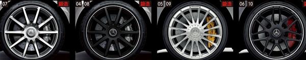 『Sクラス』 純正 LDA DAA DBA ABA CBA AMG20インチアルミホイール(鍛造)フロント用 パーツ ベンツ純正部品 安心の純正品 オプション アクセサリー 用品