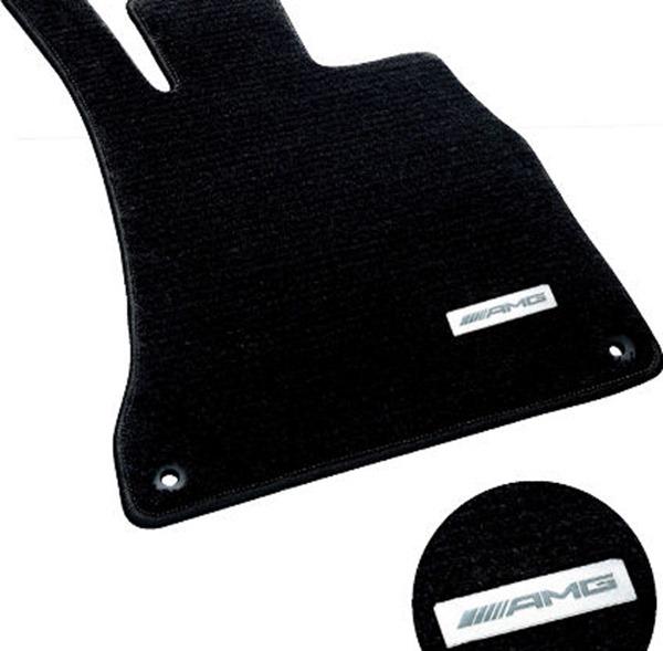 『Sクラス』 純正 LDA DAA DBA ABA CBA AMGフロアマット プレミアム 左ハンドル車用 パーツ ベンツ純正部品 フロアカーペット カーマット カーペットマット オプション アクセサリー 用品