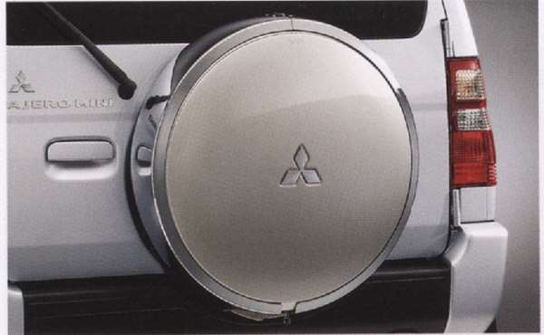 『パジェロミニ』 純正 H58A H53A エクシードタイヤケース パーツ 三菱純正部品 PAJERO オプション アクセサリー 用品