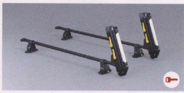 『パジェロミニ』 純正 H58A H53A スキー&スノーボードアタッチメント(サイド積み) パーツ 三菱純正部品 キャリア別売りキャリア別売り PAJERO オプション アクセサリー 用品