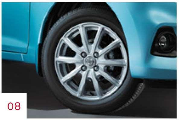 『デイズ』 純正 B21W アルミホイール 14×4.5J インセット46(10本スポークタイプ) 1本より パーツ 日産純正部品 安心の純正品 DAYZ オプション アクセサリー 用品