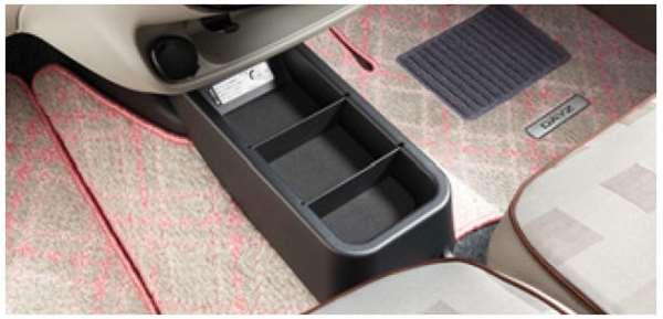 『デイズ』 純正 B21W フロアコンソールトレイ DRV10 パーツ 日産純正部品 コンソールボックス センターコンソール小物入れ 収納 DAYZ オプション アクセサリー 用品