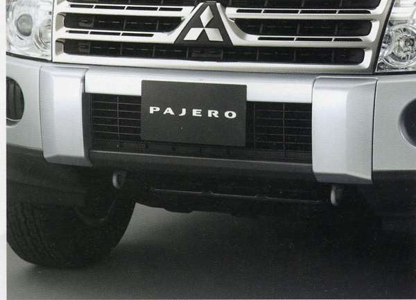 『パジェロ』 純正 V98W V97W V93W V88W オーバーライダー パーツ 三菱純正部品 PAJERO オプション アクセサリー 用品