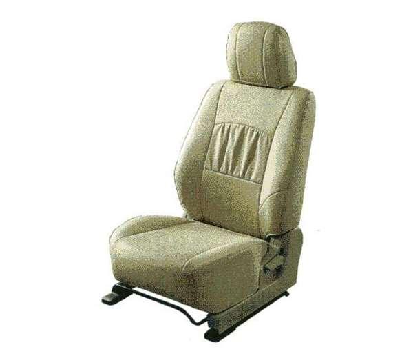 『パジェロ』 純正 V98W V97W V93W V88W シートカバー(本革調/ベージュ) パーツ 三菱純正部品 座席カバー 汚れ シート保護 PAJERO オプション アクセサリー 用品