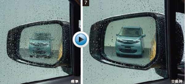 『ekクロス』 純正 B34W B35W B37W B38W 親水鏡面ドアミラー パーツ 三菱純正部品 オプション アクセサリー 用品