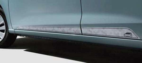 『ekクロス』 純正 B34W B35W B37W B38W サイドデカール(ハニカムパターン) パーツ 三菱純正部品 ステッカー シール ワンポイント オプション アクセサリー 用品