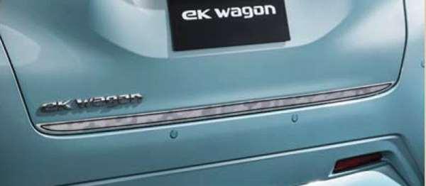 『ekクロス』 純正 B34W B35W B37W B38W テールゲートデカール(ハニカムパターン) パーツ 三菱純正部品 ステッカー シール ワンポイント オプション アクセサリー 用品