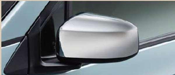 『ekクロス』 純正 B34W B35W B37W B38W メッキミラーカバー ※LED ターンランプ無ドアミラー用 パーツ 三菱純正部品 メッキ ドアミラーカバー サイドミラーカバー カスタム オプション アクセサリー 用品