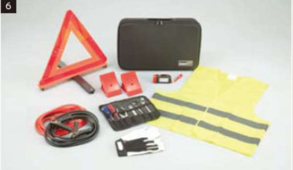 『ekクロス』 純正 B34W B35W B37W B38W 緊急保安セット(デラックス) パーツ 三菱純正部品 オプション アクセサリー 用品