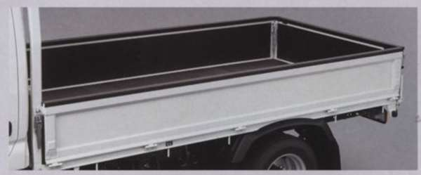 デュトロ ゲートプロテクター 1556mm×4個、1613mm×1個 幅40mm 日野純正部品 デュトロ パーツ TQUMC TQUQC TKUMC TKUQC TPUMC TPUQC パーツ 純正 日野 日野純正 部品 オプション
