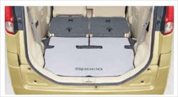 『スペーシア』 純正 MK42S ラゲッジマット(シート背裏有りソフトタイプ) パーツ スズキ純正部品 ラゲージマット 荷室マット 滑り止め spacia オプション アクセサリー 用品