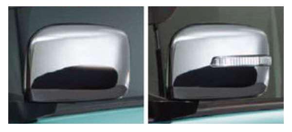 『スペーシア』 純正 MK42S ドアミラーカバー パーツ スズキ純正部品 サイドミラーカバー カスタム spacia オプション アクセサリー 用品