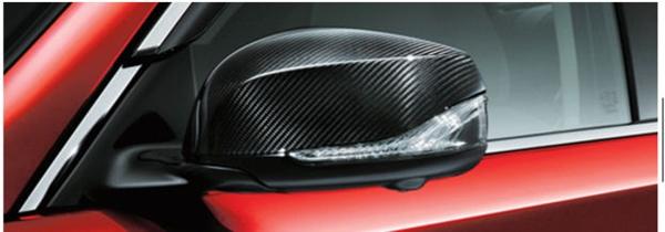 【送料無料】  『スカイライン』 純正 HV37 HNV37 RV37 カーボンエクステリアドアミラーカバー パーツ 日産純正部品 カーボン サイドミラーカバー カスタム オプション アクセサリー 用品