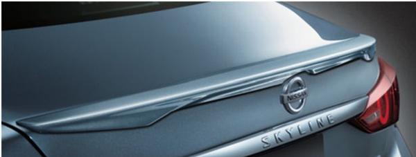 『スカイライン』 純正 HV37 HNV37 RV37 リヤスポイラー パーツ 日産純正部品 オプション アクセサリー 用品