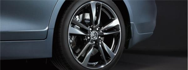 『スカイライン』 純正 HV37 HNV37 RV37 19インチアルミホール タイヤ空気圧センサー付 4本1セット パーツ 日産純正部品 オプション アクセサリー 用品