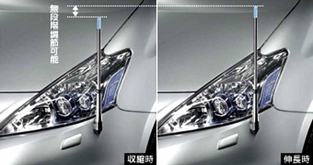 『プリウスα』 純正 ZVW41 ZVW40 フェンダーランプ デザインタイプ パーツ トヨタ純正部品 ポール フェンダーライト prius オプション アクセサリー 用品