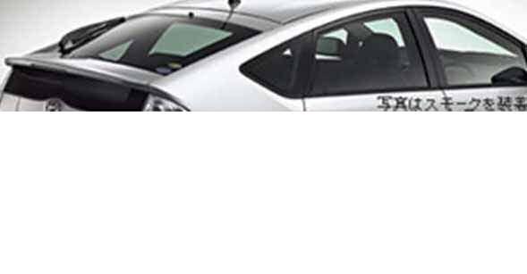 『プリウスEXグレード』 純正 NHW20 IR(赤外線)カットフィルム リヤサイド・バックガラス パーツ トヨタ純正部品 日除け カーフィルム prius オプション アクセサリー 用品