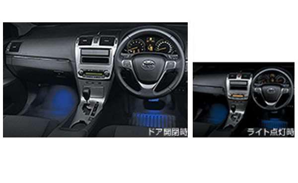 『アベンシスワゴン』 純正 ZRT272 インテリアイルミネーション 2モードタイプ パーツ トヨタ純正部品 照明 明かり ライト avensis オプション アクセサリー 用品