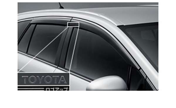 纯正的ZRT272旁边面罩BASIC零件丰田纯正零部件门面罩雨避的雨避的avensis选项配饰用品