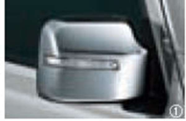 『ジムニーシエラ』 純正 JB74W ドアミラーカバー(LEDサイドターンランプ付ドアミラー用) クロームメッキ 左右セット パーツ スズキ純正部品 サイドミラーカバー カスタム オプション アクセサリー 用品
