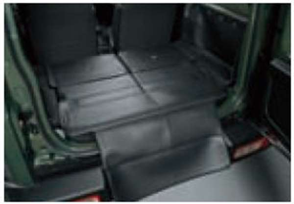 『ジムニーシエラ』 純正 JB74W ラゲッジマット(フルカバー) パーツ スズキ純正部品 ラゲージマット 荷室マット 滑り止め オプション アクセサリー 用品