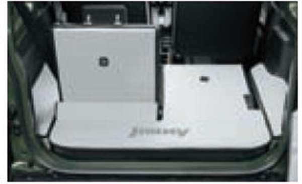『ジムニーシエラ』 純正 JB74W ラゲッジマット(ソフトタイプ) パーツ スズキ純正部品 ラゲージマット 荷室マット 滑り止め オプション アクセサリー 用品