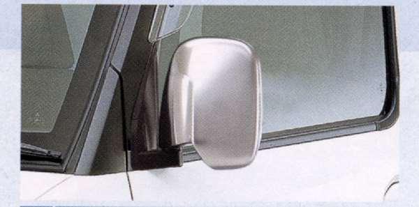 『ミニキャブ』 純正 U61V U62V U67V U61T メッキミラーカバー 左右セット パーツ 三菱純正部品 ドアミラーカバー サイドミラーカバー カスタム MINICAB オプション アクセサリー 用品