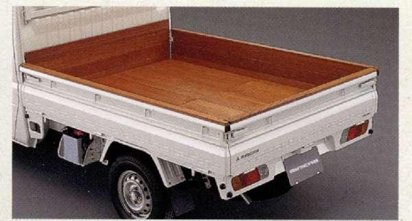 『ミニキャブ』 純正 U61V U62V U67V U61T 木製荷台プロテクター フロント パーツ 三菱純正部品 MINICAB オプション アクセサリー 用品
