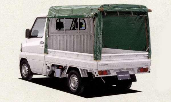 『ミニキャブ』 純正 U61V U62V U67V U61T 幌ハイルーフ 三方開 パーツ 三菱純正部品 ホロ トラック幌 MINICAB オプション アクセサリー 用品