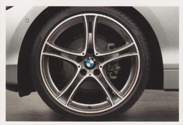 1 パーツ ダブルスポーク・スタイリング361 バイカラー フェリック・グレー/バーニッシュのホイール単体 7.5J×19(フロント) BMW純正部品 1A16 1B30 オプション アクセサリー 用品 純正 送料無料