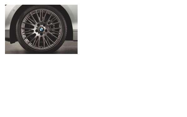 1 パーツ ラジアルスポーク・スタイリング388のコンプリート・セット 225/40R18(フロント)、245/35R18(リヤ) BMW純正部品 1A16 1B30 オプション アクセサリー 用品 純正 送料無料