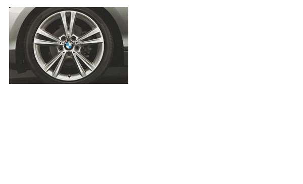 1 パーツ ダブルスポーク・スタイリング385のホイール単体 8J×18(リヤ) BMW純正部品 1A16 1B30 オプション アクセサリー 用品 純正 送料無料