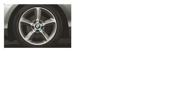 1 パーツ スタースポーク・スタイリング382のホイール単体 8J×17(リヤ) BMW純正部品 1A16 1B30 オプション アクセサリー 用品 純正 送料無料