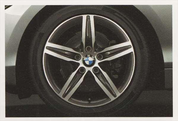 1 パーツ スタースポーク・スタイリング379のホイール単体 7.5J×17(フロント/リヤ) BMW純正部品 1A16 1B30 オプション アクセサリー 用品 純正 送料無料