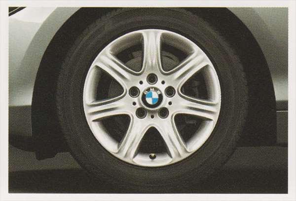 1 パーツ スタースポーク・スタイリング377のホイール単体 7J×16(フロント/リヤ) BMW純正部品 1A16 1B30 オプション アクセサリー 用品 純正 送料無料
