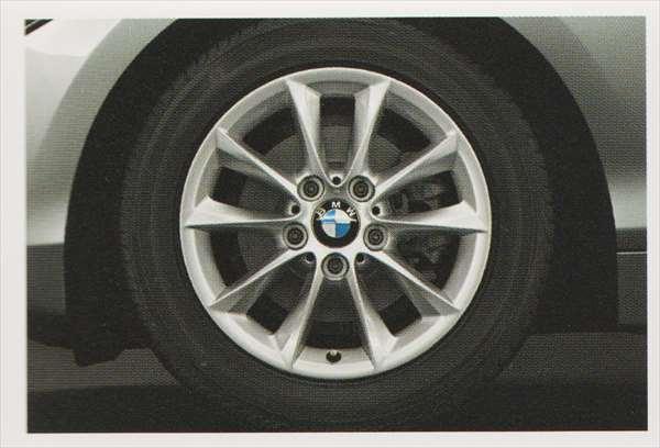 1 パーツ Vスポーク・スタイリング411のホイール単体 7J×16(フロント/リヤ) BMW純正部品 1A16 1B30 オプション アクセサリー 用品 純正 送料無料