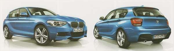 1 パーツ Mエアロダイナミクス・パッケージのリヤ・バンパー・トリム(リヤPDC装備車) BMW純正部品 1A16 1B30 オプション アクセサリー 用品 純正 送料無料