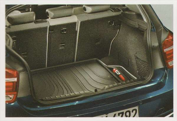 1 パーツ ラゲージ・コンパートメント・マット ブラック(Standard/Style) BMW純正部品 1A16 1B30 オプション アクセサリー 用品 純正 マット