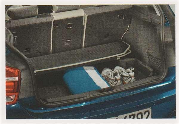 1 パーツ ラゲージ・コンパートメント・トレイ ブラック/ライト・グレー(Style) BMW純正部品 1A16 1B30 オプション アクセサリー 用品 純正 トレー