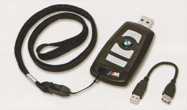 """1 パーツ BMW リモート・コントロール・キー型""""M"""" USBメモリー・スティック 8GB BMW純正部品 1A16 1B30 オプション アクセサリー 用品 純正"""