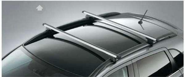 『RVR』 純正 GA4W THULE ベースキャリア(ルーフレール装着車用) パーツ 三菱純正部品 キャリアベース ルーフキャリア オプション アクセサリー 用品