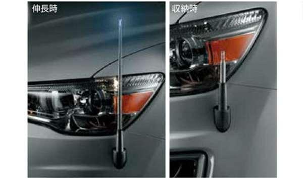 『RVR』 純正 GA4W コーナーポール パーツ 三菱純正部品 オプション アクセサリー 用品