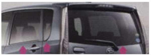 『ムーヴ』 純正 LA100S IRカットフィルムセット パーツ ダイハツ純正部品 日除け カーフィルム move オプション アクセサリー 用品