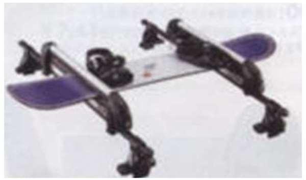 『ムーヴ』 純正 LA100S スキー/スノーボードアタッチメント パーツ ダイハツ純正部品 キャリア別売り move オプション アクセサリー 用品