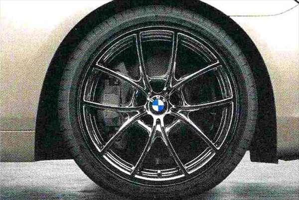 6 COUPE パーツ Vスポーク・スタイリング356(リキッド・ブラック) ホイール単体8.5J×20(フロント) BMW純正部品 LW30C YM44C オプション アクセサリー 用品 純正 送料無料