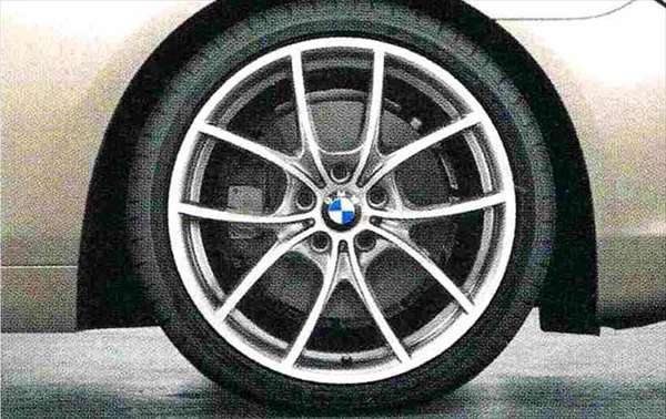 6 COUPE パーツ Vスポーク・スタイリング356バイカラー(フェリック・グレー/ポリッシュ) ホイール単体8.5J×20(フロント) BMW純正部品 LW30C YM44C オプション アクセサリー 用品 純正 送料無料